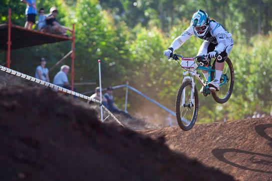 Der Gewinner des 4X in Pietermaritzburg, Jared Graves. Pic: Sebastian Schieck
