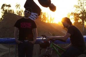 Trampolin springen macht Spass Düse, oder? Pic: Uwe Bartesch
