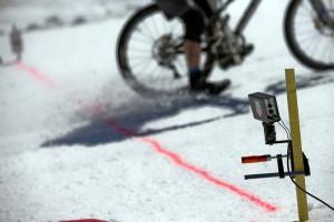 """Die """"Speedtrap"""" Anlage, wo es Schneidi auf satte 96 km/h gebracht hat. Respekt! Pic: Hoshi K. Yoshida"""