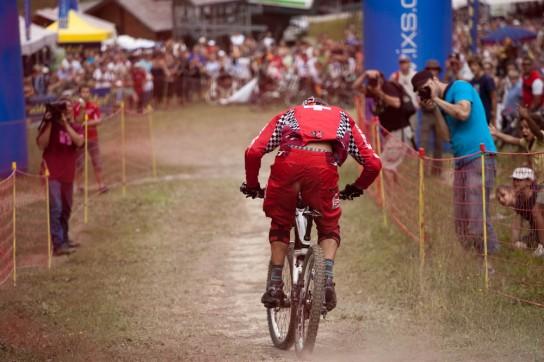 Nick Beer im Zielanflug. Bild: Thomas Dietze