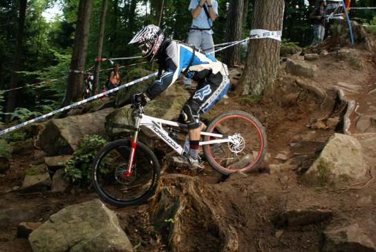 Tillmann war in Wildbad wieder zurück auf dem Bike. Pic: www.rad-i-o.de