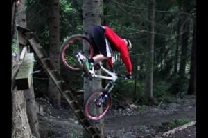 Wieder im Bikepark Wagrain. Bild: Fransen