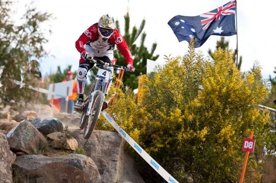 Wer hätte das gedacht? Steve Peat gewinnt die World Champs in Australien. Pic: Sebastian Schieck