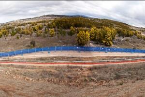 Die Zielgerade in Canberra die von vielen gefürchtet wird. Am Sonntag wird sich vielleicht hier das Rennen entscheiden. Pic: Sebastian Schieck