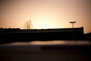20/11/2009, Berlin-Mitte, 16:00 Uhr, Sonnenuntergang. Pic Carlo Dieckmann