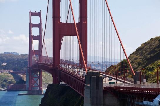 Welcome to California! Photo: Sebastian Schieck