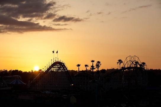 Sonnenuntergang in Santa Cruz. Photo: Sebastian Schieck