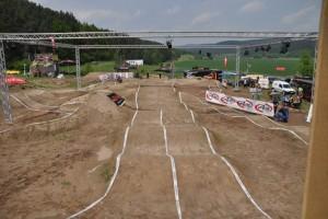 Das Setup für die German Pumptrack Championships 2010