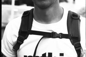 André Wagenknecht musste leider im DH aussetzen, weil er Beef mit seinem Fuss hatte. Nices Shirt! Analogcredits: Kjeldy